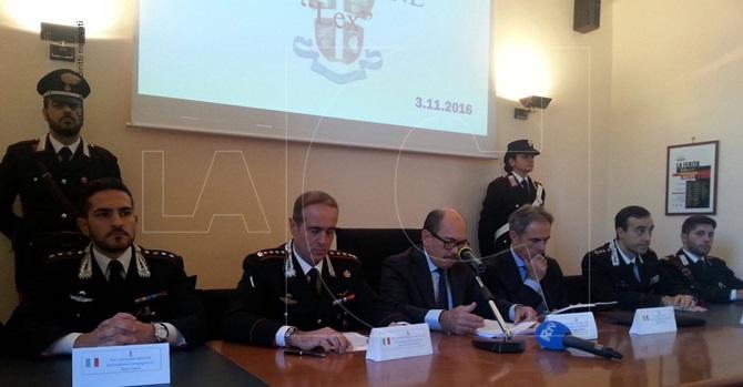 La conferenza stampa del 3 novembre a Reggio Calabria