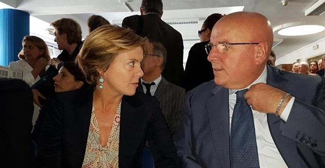 Il ministro Lorenzin e il governatore Oliverio