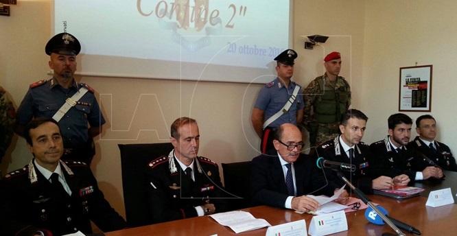 Conferenza stampa Confine 2