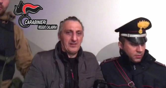 L'arresto di Giuseppe Facchineri