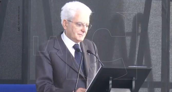 Il presidente della Repubblica intervenuto a Locri