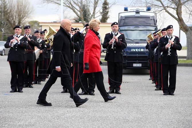 Vibo, cerimonia d'istituzione del 14esimo battaglione carabinieri Calabria