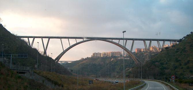 Il ponte Bisantis a Catanzaro