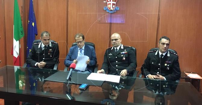 Armi,truffe,droga. 9 arresti a Cosenza
