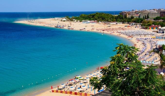 Il litorale di Soverato
